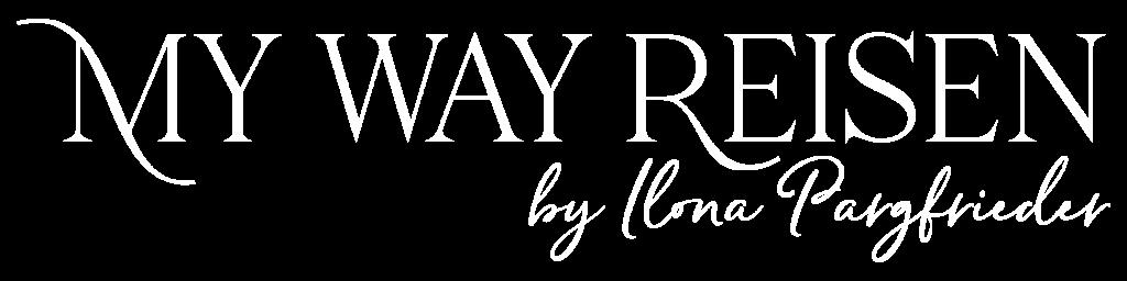 my way reisen Logo Weiß